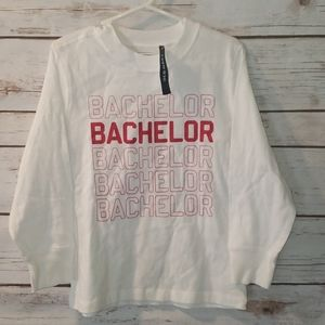 New Old Navy Bachelor Long sleeve shirt size 4T